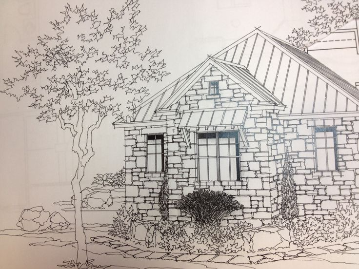 Stone Elevation Drawing : Best images about my sketches on pinterest stone