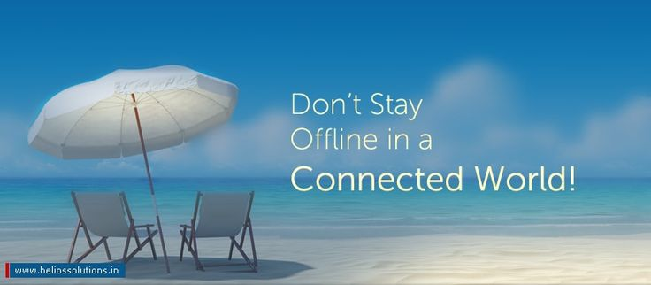 Don't Risk Your Business By Staying Offline In A Connected World! by https://blog.heliossolutions.in/cloud-computing/dont-risk-business-staying-offline-connected-world/
