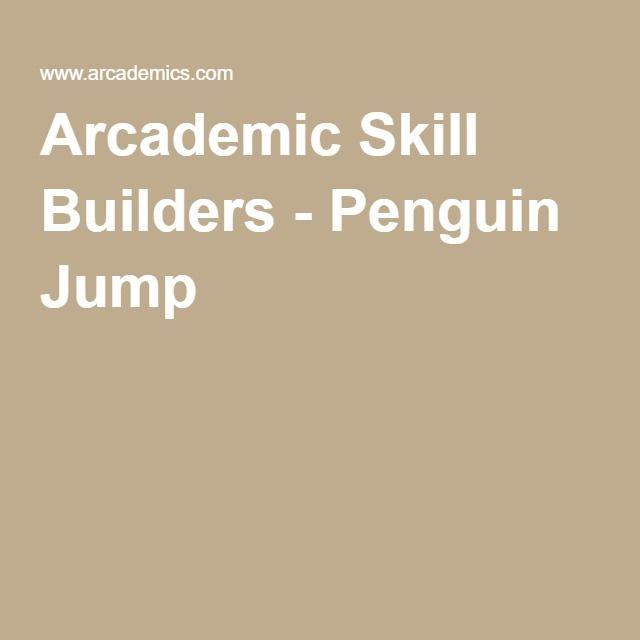 Arcademic Skill Builders - Penguin Jump