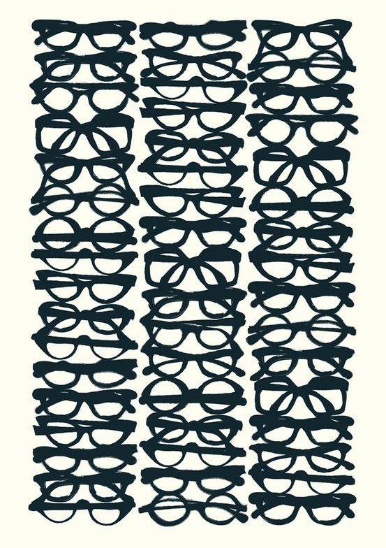 geek lifeGeek, Pattern, Frames, Art Prints, Graphics, Sunglasses, Posters, Black Glasses, Eye
