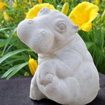 Cute Hippo Statue
