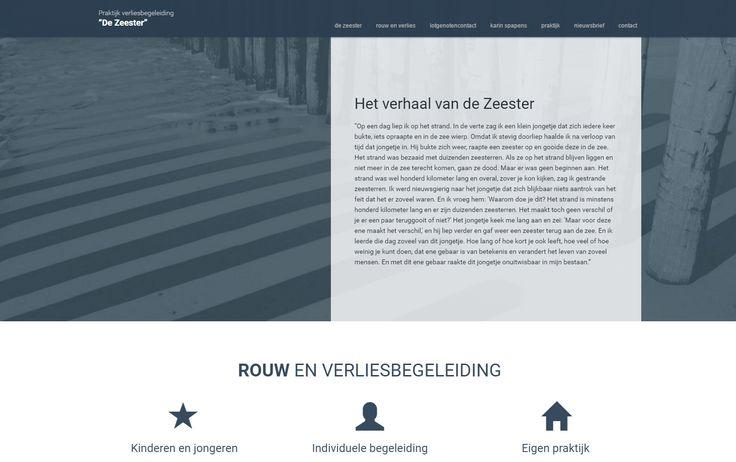 Website verliesbegeleiding De Zeester