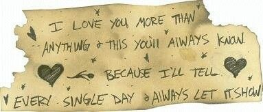 Missing someone special