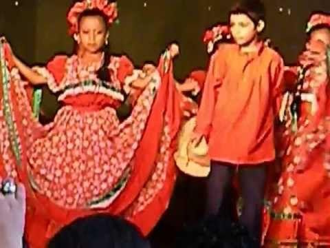 BAILE MANAGUA LINDA MANAGUA, GRUPO DE NIÑOS  ...