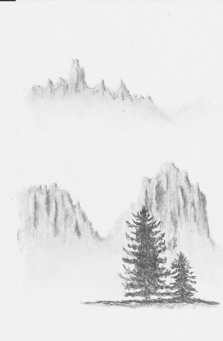 Mountains in the Mist by Hester Bondt