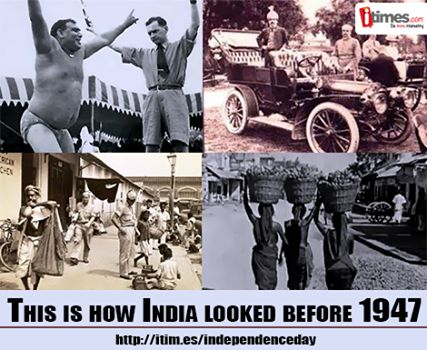 itimes wishes you all a very happy #IndependenceDay. Click here to see some pictures of #India before independence