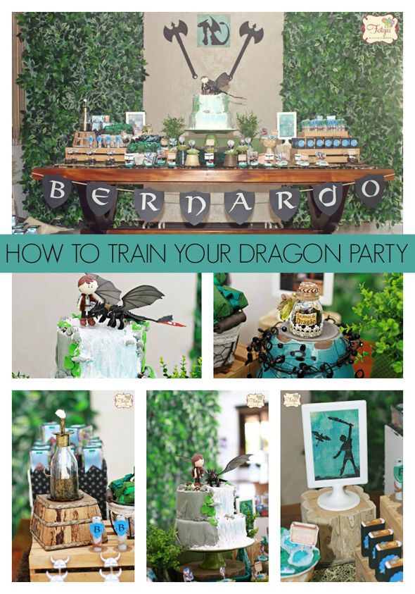 Are your kids fans of the movie How to Train Your Dragon? Get ideas on how to plan the ultimate How to Train Your Dragon Party
