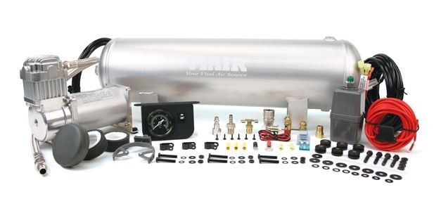 Medium Duty Onboard Air System Split System Sprinter Van  (12V, CE, 150 PSI Compressor, 2.5 Gal. Tank)