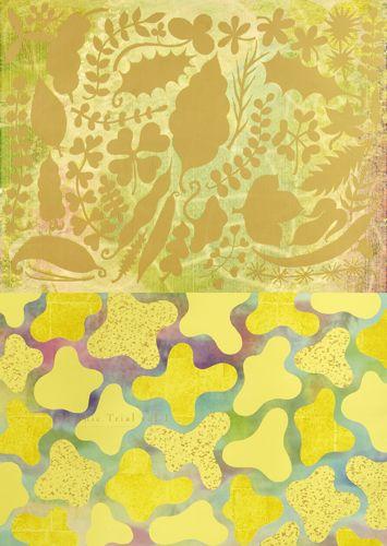 ©hiroki taniguchi 2006<br>「GRAPHIC TRYAL」印刷実験ポスター/凸版印刷<br>1030×728mm