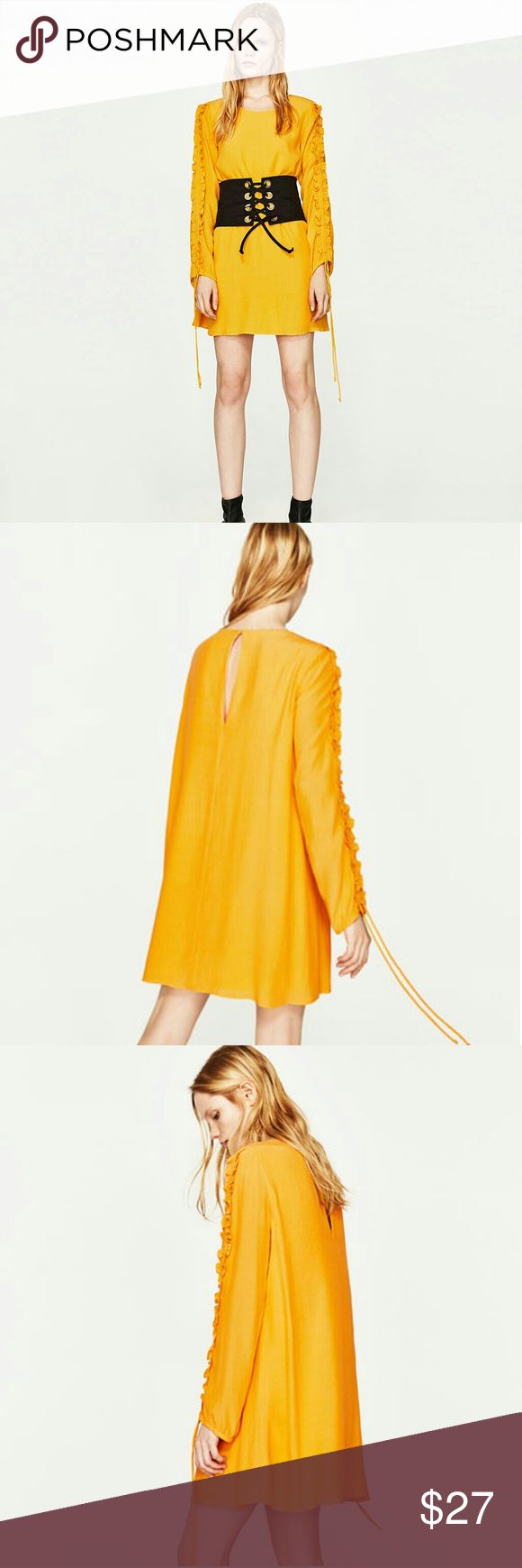 Zara yellow layer dresses