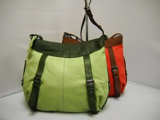1 Gabee LW53801 -  LW53801 Available in Lime and Red.  Back external zip.  Top zip. Front pockets.    34W x 30H