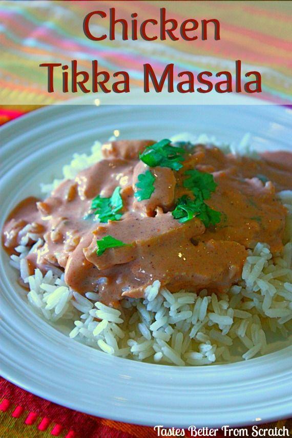 Chicken Tikka Masala | Tastes Better From Scratch