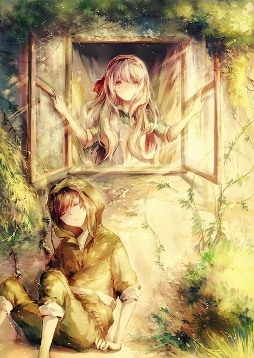 """""""E-Eh? Seto-kun?"""" I looked down to my right and saw Seto, sleeping there with a peaceful face and a steady breath. W-What was he doing here...? Should I wake him up...?"""