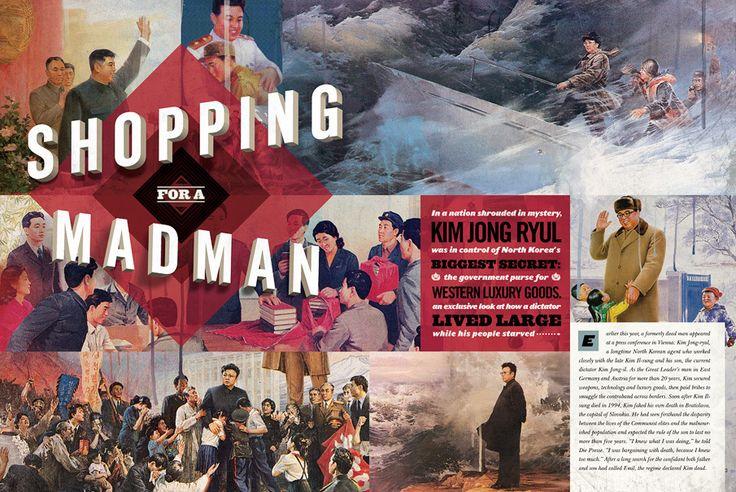 Playboy Nov 2010 editorial, designed by Cody Tilson