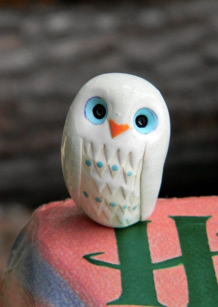 Albus the Clay Owl
