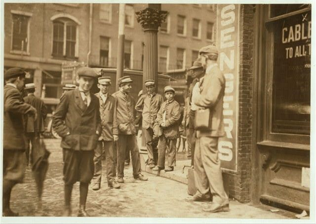 old pictures of fall river ma | Postal messengers, Fall River, MA, 1911. Library of Congress.