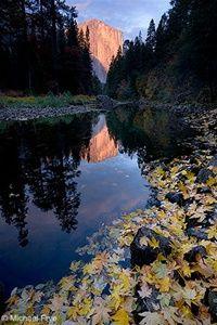 El Capitan and Merced River, Autumn, Yosemite National Park, CA