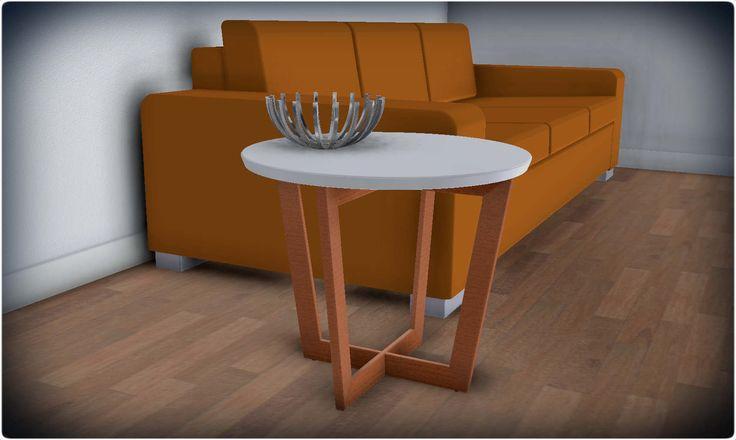 Side table - KeyCreator,STEP / IGES,STL - 3D CAD model - GrabCAD