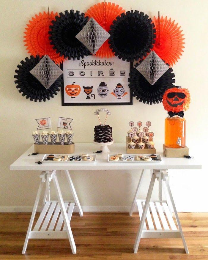 Hipster Spooky Soiree via Kara's Party Ideas KarasPartyIdeas.com Cake, decor, cupcakes, recipes, and more! #halloween #halloweenparty #spookysoiree (16)