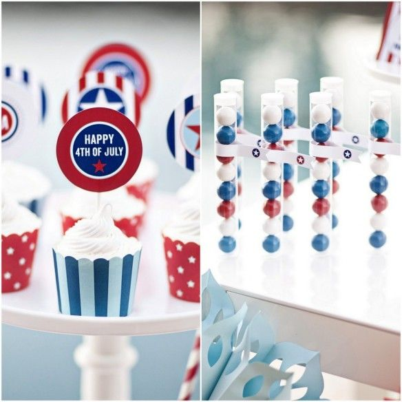 4th of july free printables from The Tom Kat Studio - how sweet!