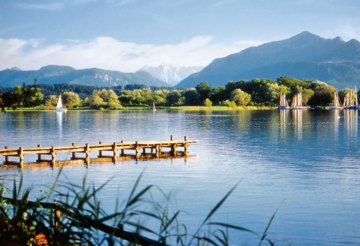 Der wunderschöne Chiemsee in Bayern