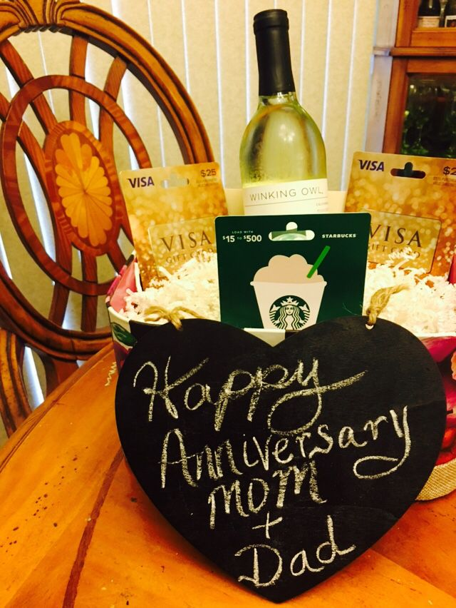 25 best anniversary gifts for parents ideas on pinterest for Diy presents for parents