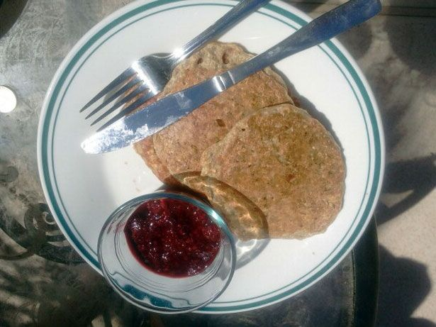 figure competition recipes - oatmeal protein pancakes