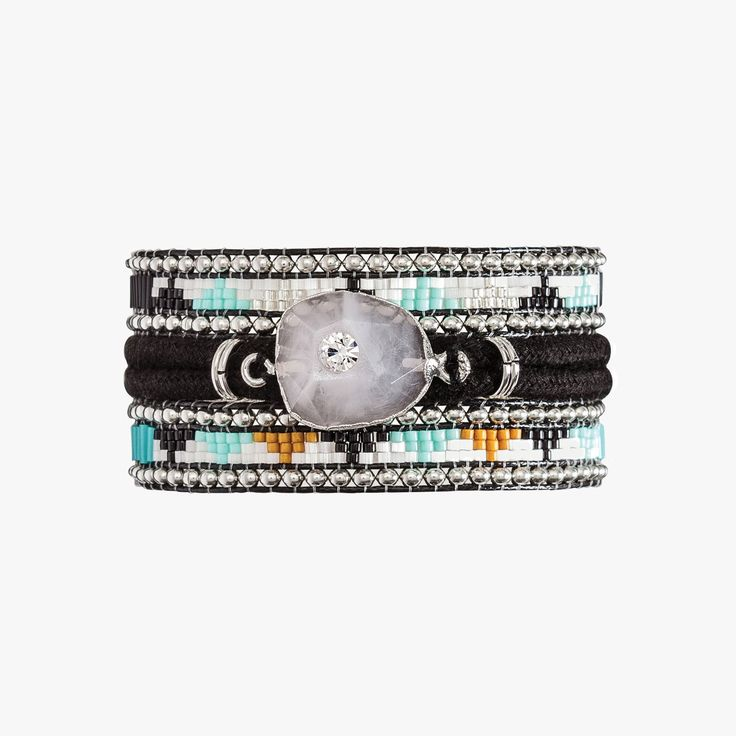 Bracelet Black Mamba noir - HIPANEMA - Find this product on Bon Marché website - Le Bon Marché Rive Gauche