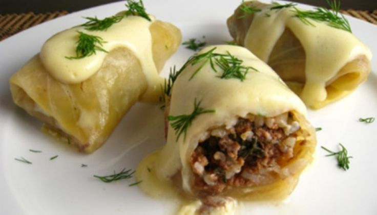 Συνταγή: Λαχανοντολμάδες (Μπρμπαρίγου) « Συνταγές με κέφι