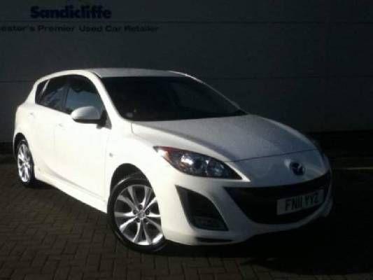 Used 2011 (11 reg) White Mazda 3 1.6 Takuya 5dr for sale on RAC Cars