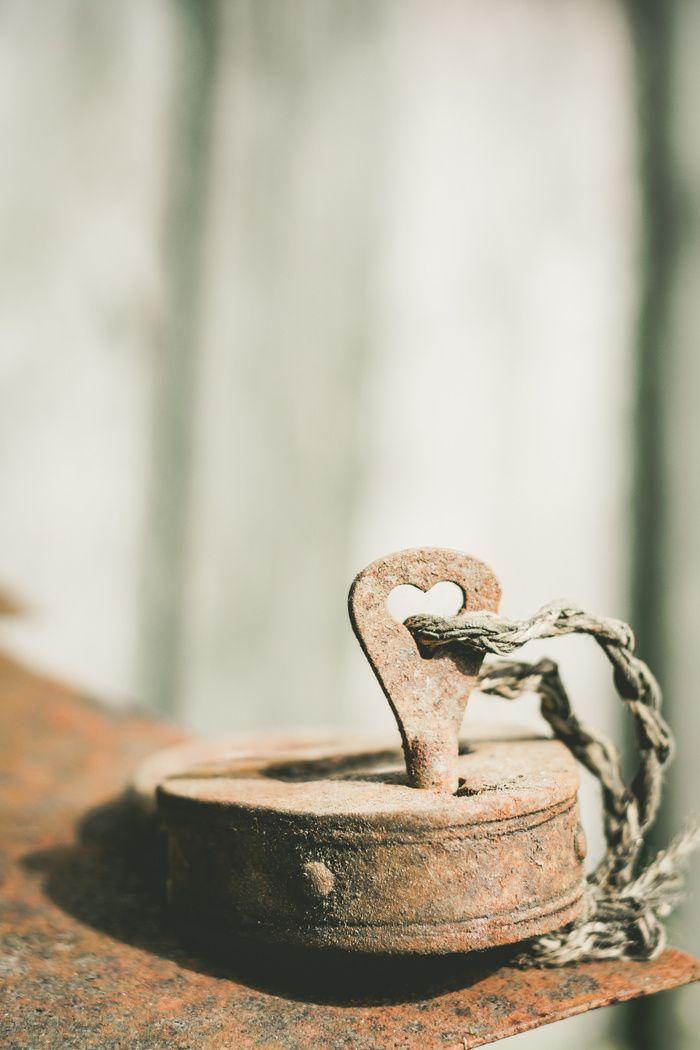 Locked Rust Art Print by Errne | Society6