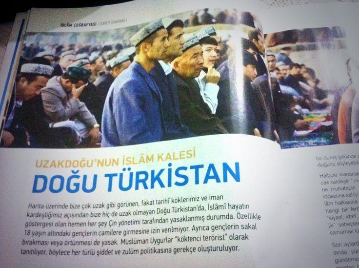 #DoğuTürkistan @semerkanddergi  Asıl sorun, özellikle günümüzde Müslümanların zulüm karşısında duruşu.