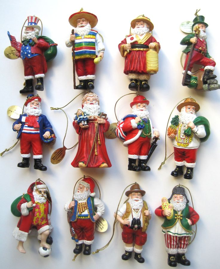 Collectible Christmas Ornaments 64 best santas images on pinterest | christmas ideas, father