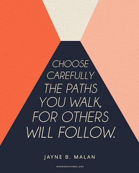 Choose Your Paths Carefully