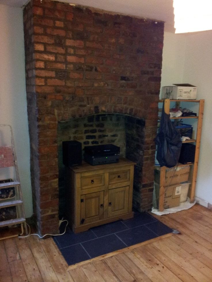 23 Best images about How to expose a brick chimney breast ...