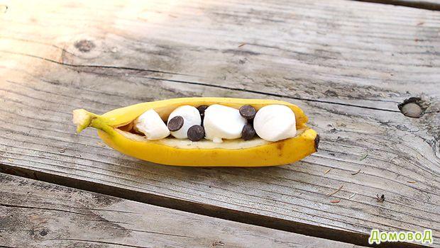 Бананы на костре