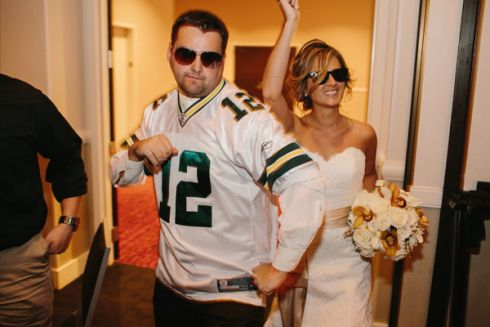 42 best images about packers wedding on pinterest for Green bay packers wedding dress