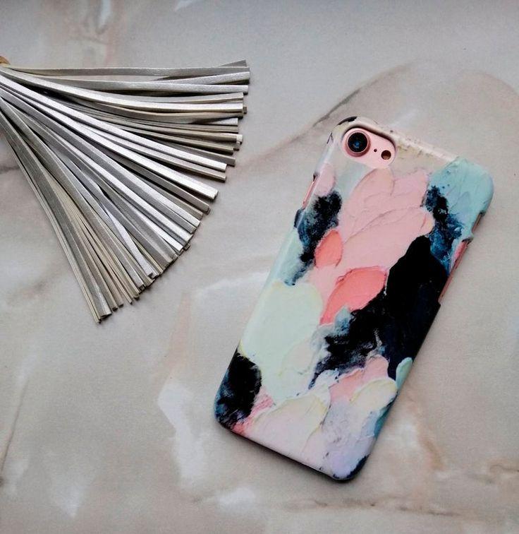 Oil paints iphone xr case iphone 8 plus art case oil paint