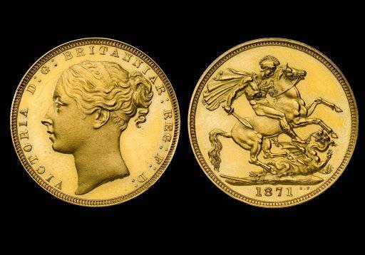 Portraits of Queen Victoria | rare coins | Gold coins, Gold