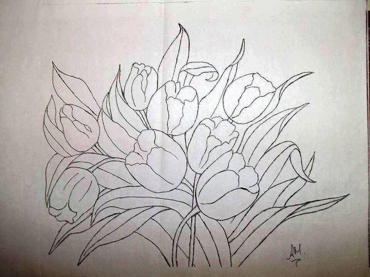 Pin Do A Mariana Matias Em Desenhos Para Pintar: 704 Best Flores Pintura Images On Pinterest