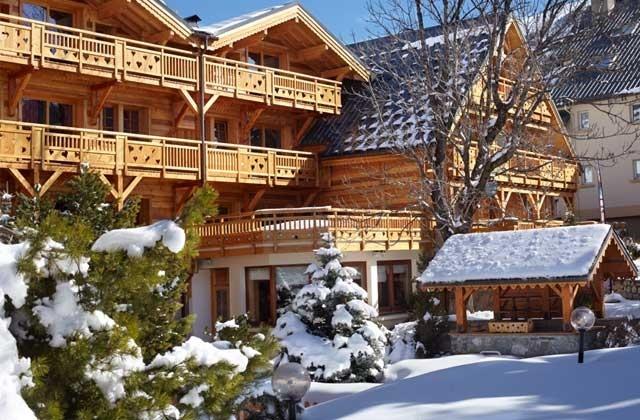 Les 2 Alpes. Hôtel Chalet Mounier, 4* © Eliophot/ JM Pechard