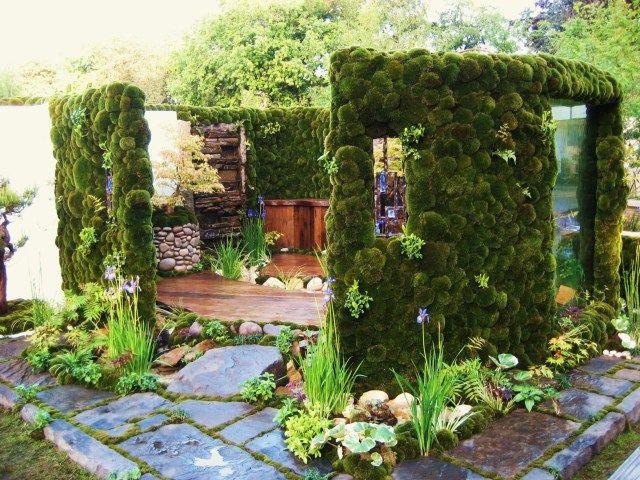 雲庭 / Untei 壁面緑化デザイン 施工事例|ガーデンデザイン ランドスケープアーティスト 石原和幸デザイン研究所