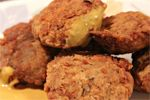 Healthy Chicken Nuggets with #coconutflour and #coconutoil