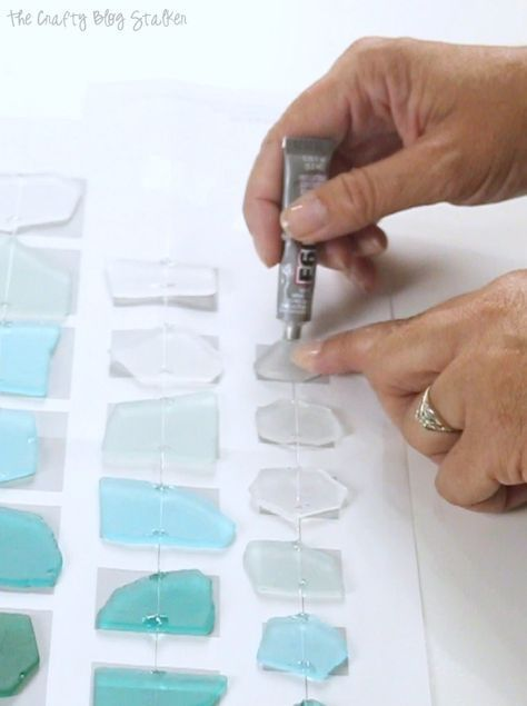 DIY Craft: Create a handmade sea glass wind chime and enjoy the summer breeze. The craft kit includes all the supplies you need. A simple DIY craft tutorial idea.