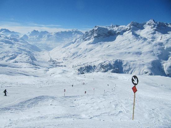**Ski Arlberg (ski resort, great ski resort town) - Lech, Austria