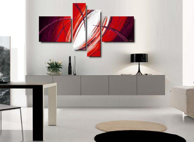 Produzione quadri moderni astratti 100 dipinti a mano for Quadri moderni salotto