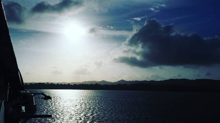 """We are already at Gatun lake level. The word Gatun is a derivation from """"gaton"""" wich in Spanish means larga cat. Gaton was the name given to the bandits who stole cattle from the crown to resell on ilegal markets."""