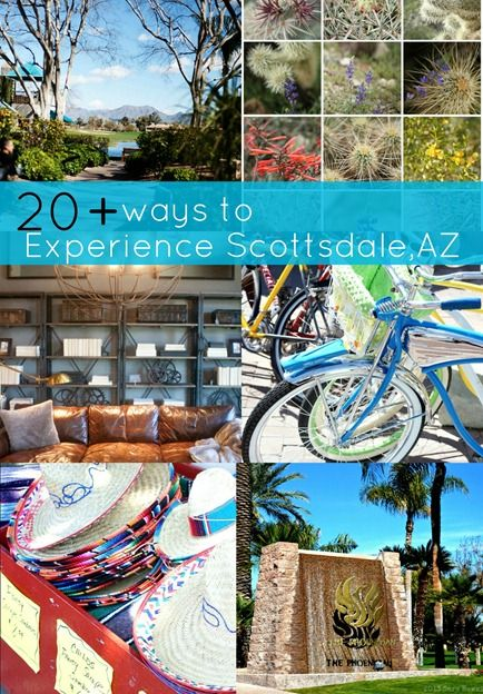 What to do in Scottsdale? Fashion square, Scottsdale Quarters and other home décor stores! Plus 20+ trip ideas! #scottsdaleaz
