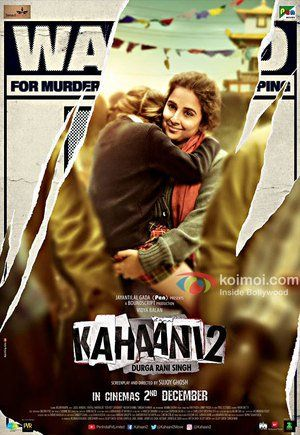 Watch Kahaani 2 Full Movie Streaming HD
