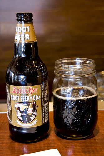 Sprecher Root Beer - some of the best root beer you can buy if you can find it!